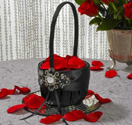 """Elizabeth Collection"" Flower Girl Basket"