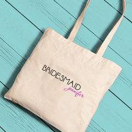 Signature Bridesmaid Tote Bag