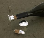 Silver Plated Bottle Stopper/Pourer