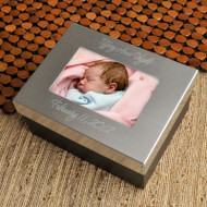 Personalized Lasting Memories Keepsake Baby Box
