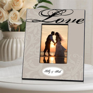 Personalized Pewter Love Picture Frame