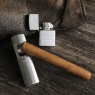 Personalized On-the-Go Zippo Lighter with Zippo Portable Ash Tray