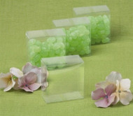 Italian-made Transparent Favor Boxes (Set of 10)