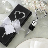 Chrome Heart Wine Bottle Stopper