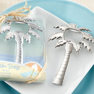 """Palm Breeze"" Chrome Palm Tree Bottle Opener"