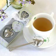 Tea Time Heart Tea Infuser Favor