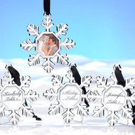 Snowflake Place Card Holder (Set of 4)