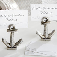 """Nautical"" Anchor Place Card Holder (Set of 6)"