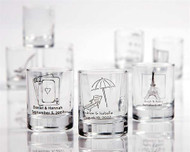 Personalized Shot Glass or Votive Holder