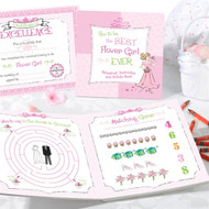Flower Girl Activity Gift Set