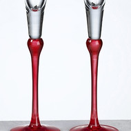 Red Toasting Glass Set