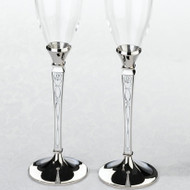 Retro Patterned Toasting Glass Set