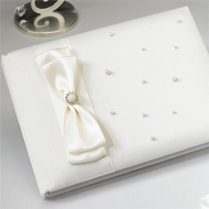 Ivory Pearl Guest Book