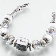Beaded Bride Bracelet