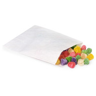 DIY White Candy Paper Bags (Set of 100)