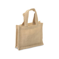 DIY Mini Burlap Tote Favor Bag (Set of 6)