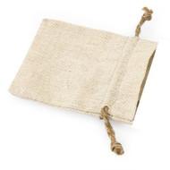 Mini Linen Favor Bag with Jute Drawstring (Set of 12)
