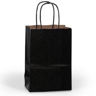 DIY Black Paper Gift Bag (Welcome Bag)