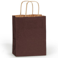 DIY Chocolate Brown Paper Gift Bag (Welcome Bag)
