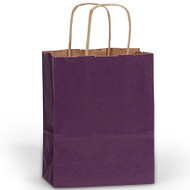 DIY Purple Paper Gift Bag (Welcome Bag)
