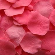 Bubblegum Pink Silk Petals {Package of 100}