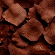Brownie (Chocolate Brown) Silk Petals {Package of 100}
