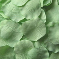 Celadon Green Silk Petals {Package of 100}