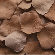 Cocoa Silk Petals {Package of 100}
