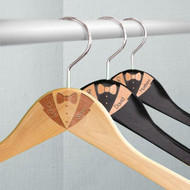 Engraved Wooden Hanger for Him