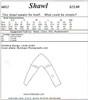 Shawl 012 Pattern - Elements