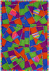 Strippy Crazy Wall Quilt Pattern