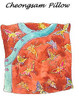 Cheongsam Pillow - Nancy Shriber