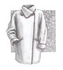 Funnel Collar Serger Coat - Great Copy Patterns