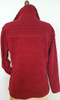 Corded Knit Velour - Cranberry Red