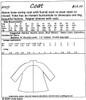 Coat 009 Pattern - Elements