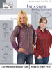 City Western Blouse - Islander Sewing Systems