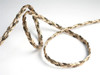 Reversible Braided Cord - Metallic Gold/Black
