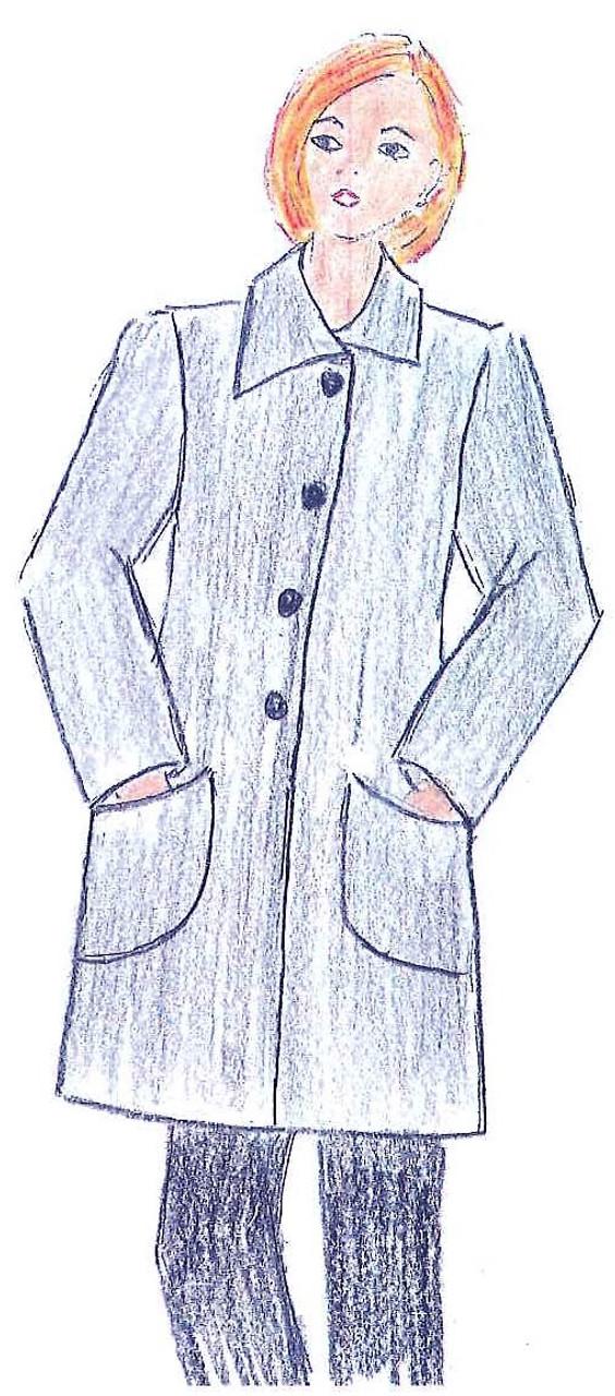 Coat 014 Pattern - Elements