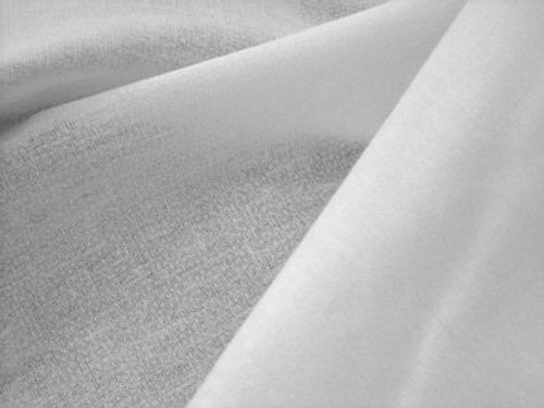 100% Cotton White Woven Fusible Interfacing & Interlining