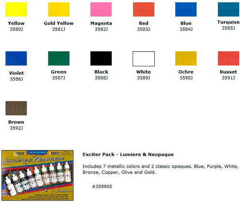 Textile Neopaque Colors - Jacquard
