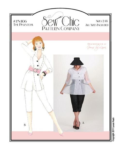The Phantom - Sew Chic Pattern Company