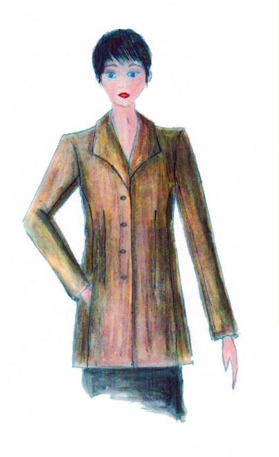 Jacket 016 Pattern - Elements