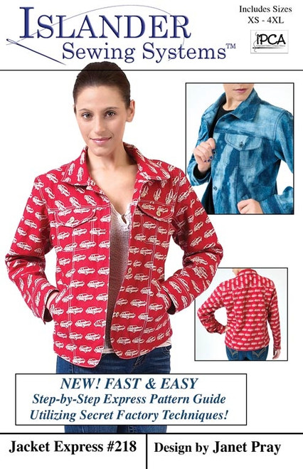 Jacket Express Pattern - Islander Sewing Systems