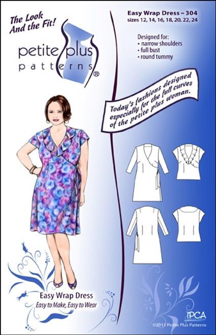 Easy Wrap Dress & Top - Petite Plus