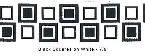 Grosgrain Squares Ribbon