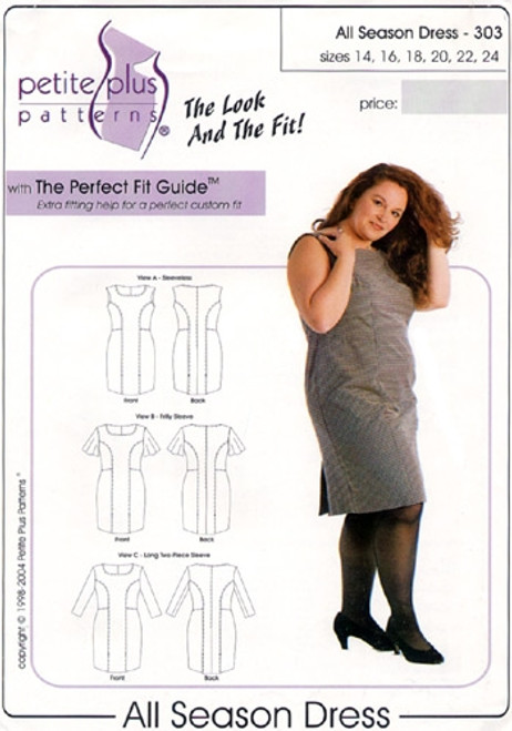 All Season Dress - Petite Plus
