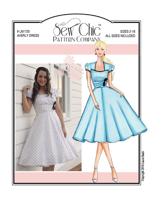 Averly Dress - Sew Chic Pattern Company