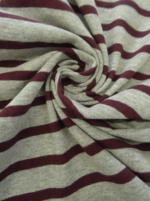 Varsity Stripe Jersey Knit