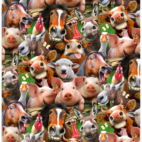 Farm Selfies - Yardage
