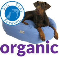 Organic Cotton Duck Bolster Bed